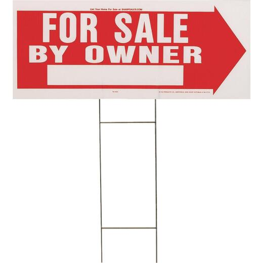 Hy-Ko Corrugated Plastic Sign, For Sale By Owner