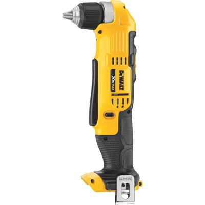 DeWalt 20 Volt MAX Lithium-Ion 3/8 In. Cordless Angle Drill (Bare Tool)