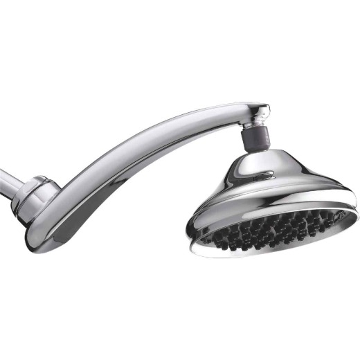 Waterpik RainFall+ 1-Spray 1.8 GPM Fixed Showerhead, Chrome