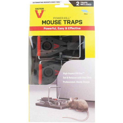 Victor Quick-Kill Mechanical Mouse Trap (2-Pack)