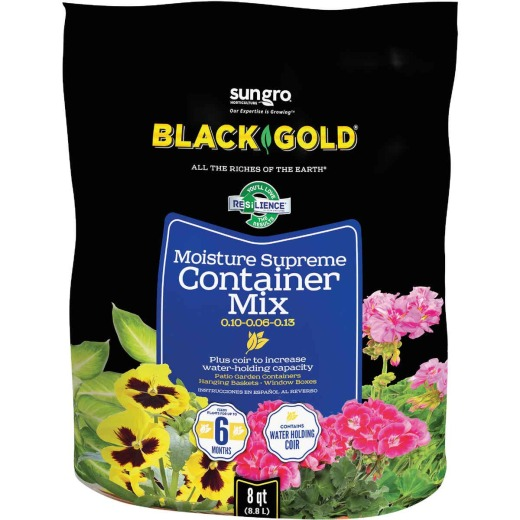 Black Gold Moisture Supreme 8 Qt. 6 Lb. Container Potting Soil