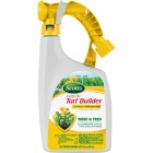 Scotts Turf Builder 32 Oz. Liquid 6000 Sq. Ft. 25-0-2 Lawn Fertilizer with Plus 2 Weed Killer Image 1